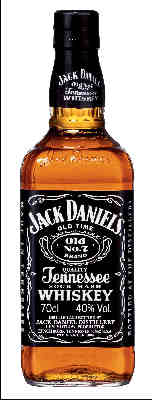 Jack Daniels Tennessee Whiskey 0,7L