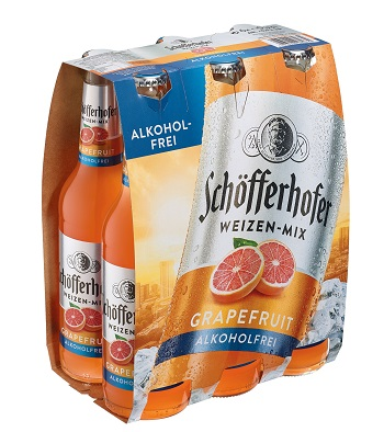 Schoefferhofer Grapefruit Alkoholfrei 6er